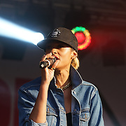 London,England,UK ; 25th June 2016 : Alesha Dixon in Trafalgar square for the annual Pride in London 2016, England, UK. Photo by See Li