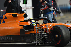 February 19, 2019 - Barcelona, Spain - English driver Lando Norris of English team McLaren F1 Team driving his single-seater MCL34 during Barcelona winter test in Catalunya Circuit in Montmelo, Spain, on February 19, 2019. (Credit Image: © Andrea Diodato/NurPhoto via ZUMA Press)