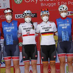 25-03-2021: Wielrennen: Classic Brugge - De Panne Women: De Panne<br />Certizt-WNT