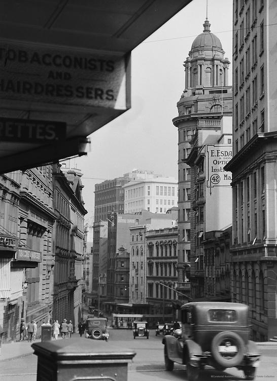 Hunter Street, Sydney, Australia, 1930