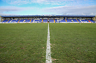 The Deva Stadium, Home of Chester FC during the FA Trophy 2nd round match between Chester FC and Forest Green Rovers at the Deva Stadium, Chester, United Kingdom on 14 January 2017. Photo by Shane Healey.