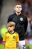 Scotland midfielder Ryan Christie (20) (Celtic) during the UEFA European 2020 Qualifier match between Scotland and Belgium at Hampden Park, Glasgow, United Kingdom on 9 September 2019.