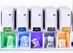 THEMENBILD - Schauraum. Das Familienunternhemen Hagleitner ist Hersteller und Entwickler innovativer Produkte aus dem Bereich Hygiene mit 27 Standorten in zwölf Ländern Europas und einem Vertrieb in 63 Ländern // Hagleitner is a manufacturer and developer of innovative products in the hygiene sector with 27 locations in 12 European countries and a distribution network in 63 countries, Zell am See, Austria on 2019/07/26. EXPA Pictures © 2019, PhotoCredit: EXPA/ JFK