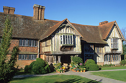 The front of the house at Great Dixter