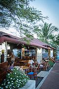 Puerto Ayora town, cafe, Santa Cruz Island, Galapagos Islands, Ecuador, South America