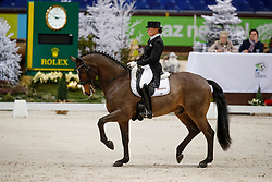 Krinke-Susmelj Marcela, SUI, Smeyers Molberg<br /> Grand Prix presented by Jiva Hill Stables<br /> CHI de Genève 2017<br /> © Hippo Foto - Dirk Caremans<br /> 08/12/2017