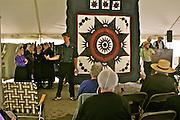 Amish Quilt and Art Sale, Fundraiser, Nicholas Stoltzfus House, Wyomissing, Berks Co.,