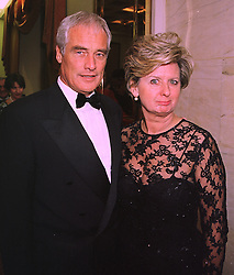 MR & MRS ROBERT KILROY-SILK, he is the TV presenter, at a reception in London on 3rd February 1998.MFC 7