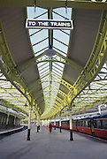 Light Rail station near Skelmorlie, Scotland.