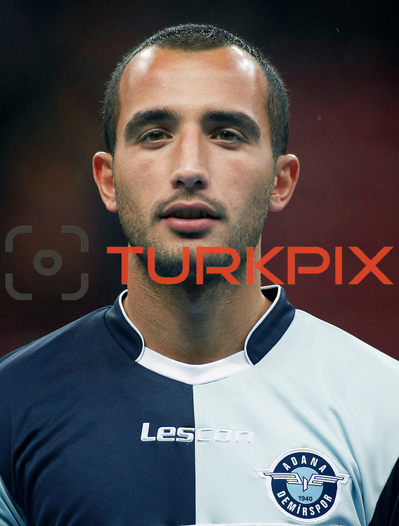 AdanaDemirspor's Rasit Sevindir during their Turkey Cup matchday 3 soccer match Galatasaray between AdanaDemirspor at the Turk Telekom Arena at Aslantepe in Istanbul Turkey on Tuesday 10 January 2012. Photo by TURKPIX