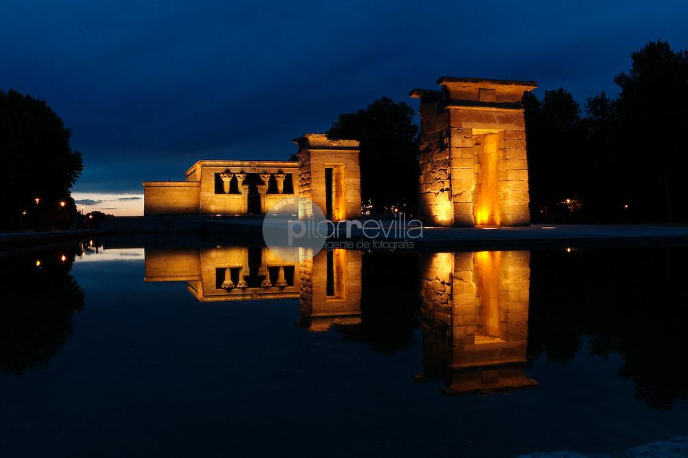 Templo de Debod, Madrid, España © / PILAR REVILLA ©Country Sessions / PILAR REVILLA