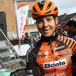 03-03-2020: Wielrennen: GP Le Samyn: vrouwen: Dour: Jip van den Bos