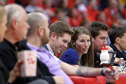 14 January 2017:  John Twork during an NCAA  MVC (Missouri Valley conference) mens basketball game between the Wichita State Shockers the Illinois State Redbirds in  Redbird Arena, Normal IL