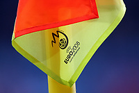 GEPA-2006083436A - WIEN,AUSTRIA,20.JUN.08 - FUSSBALL - UEFA Europameisterschaft, EURO 2008, Kroatien vs Tuerkei, CRO vs TUR, Viertelfinale. Bild zeigt eine Cornerfahne. Keyword: Fahne.<br />Foto: GEPA pictures/ Markus Oberlaender
