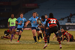Edgar Maratlulle during the Currie Cup premier division match between the Blue Bulls and EP Kings held at Loftus Versfeld stadium, Pretoria, South Africa on the 19th August 2016<br /> <br /> Photo by:   Real Time Images