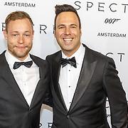 NLD/Amsterdam/20151028 - Premiere James Bondfilm Spectre, Barry Paff en partner