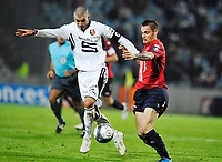 FOOTBALL - FRENCH CHAMPIONSHIP 2009/2010  - L1 - LILLE OSC v Rennes - 17/10/2009 - <br /> <br />  JEROME LEROY (REN)<br /> Norway only