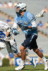 26 April 2009: North Carolina Tar Heels midfielder Cryder DiPietro (22) during a 15-13 loss to the Duke Blue Devils during the ACC Championship at Kenan Stadium in Chapel Hill, NC.