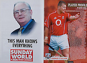 All Ireland Senior Hurling Championship - Final,.11.09.2005, 09.11.2005, 11th September 2005,.Minor Galway 3-12, Limerick 0-17,.Senior Cork 1-21, Galway 1-16,.11092005AISHCF,.Sunday World, .Player profile Diarmuid O'Sullivan,