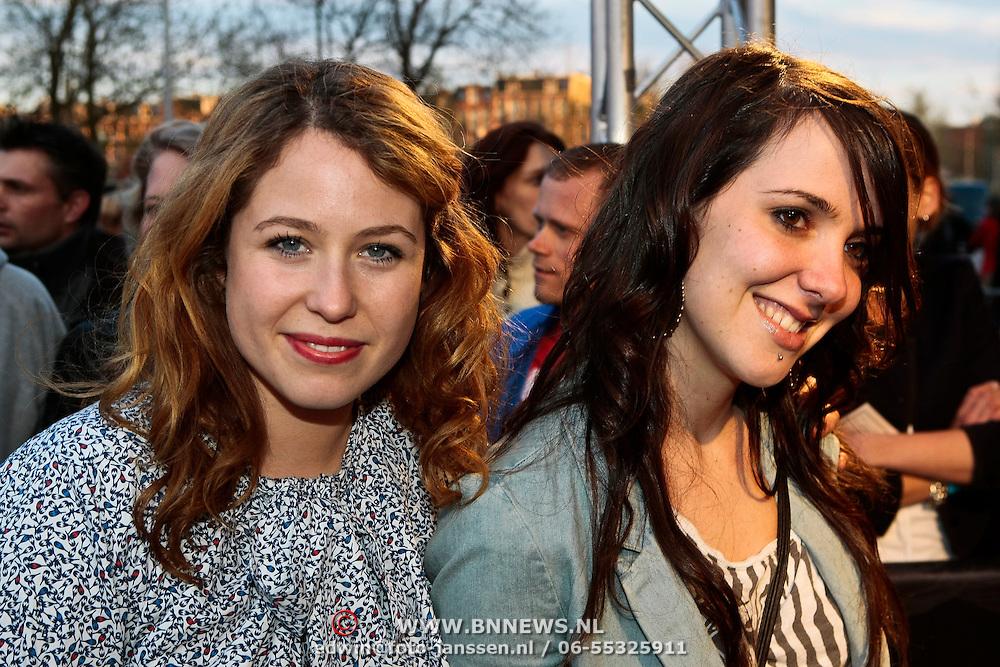 NLD/Amsterdam/20100415 - Uitreiking 3FM Awards 2010, Sanne Vogel en Sandy - Kane
