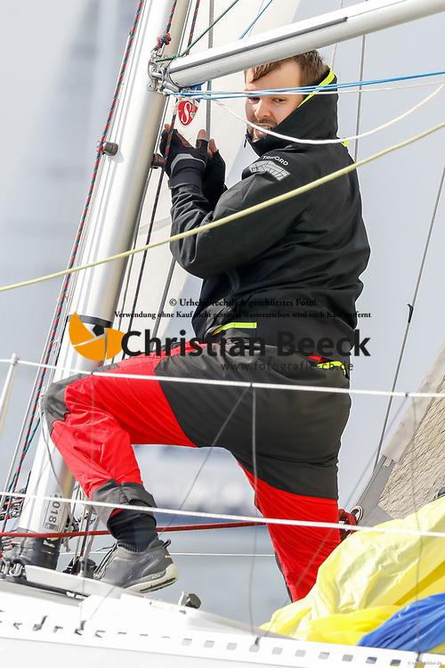 , Kiel - Maior 28.04. - 01.05.2018, ORC 3 - Fliege - GER 7574 - Wasa 30 - Johannes CHRISTOPHERS - Club der Kreuzer Abteilung e. V