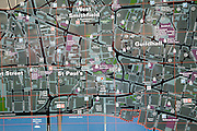 City of London tourist street map, London