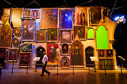 © Licensed to London News Pictures 27/02/2011 London, UK. .The Hogwarts Castle portraits inside The Warner Brothers Studio Tour, Leavesden, Herts where all 8 Harry Potter movies were made and opens to the public this week..Photo credit : Simon Jacobs/LNP