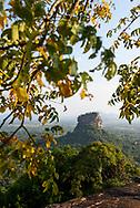 Sigiriya rock fortress in Sri Lanka, viewed from atop Pidurangala Rock.