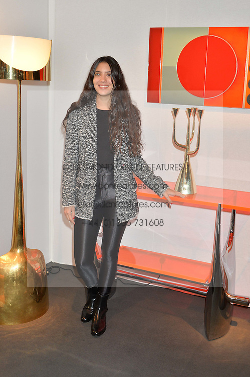 NOOR FARES at the PAD London 2015 VIP evening held in the PAD Pavilion, Berkeley Square, London on 12th October 2015.