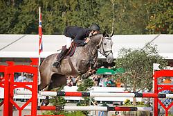 Van Asten Leopold (NED) - VDL Groep Quinthago Z<br /> Winner Final 5 years old horses<br /> World Championship Young Horses Lanaken 2009<br /> © Hippo Foto - Dirk Caremans
