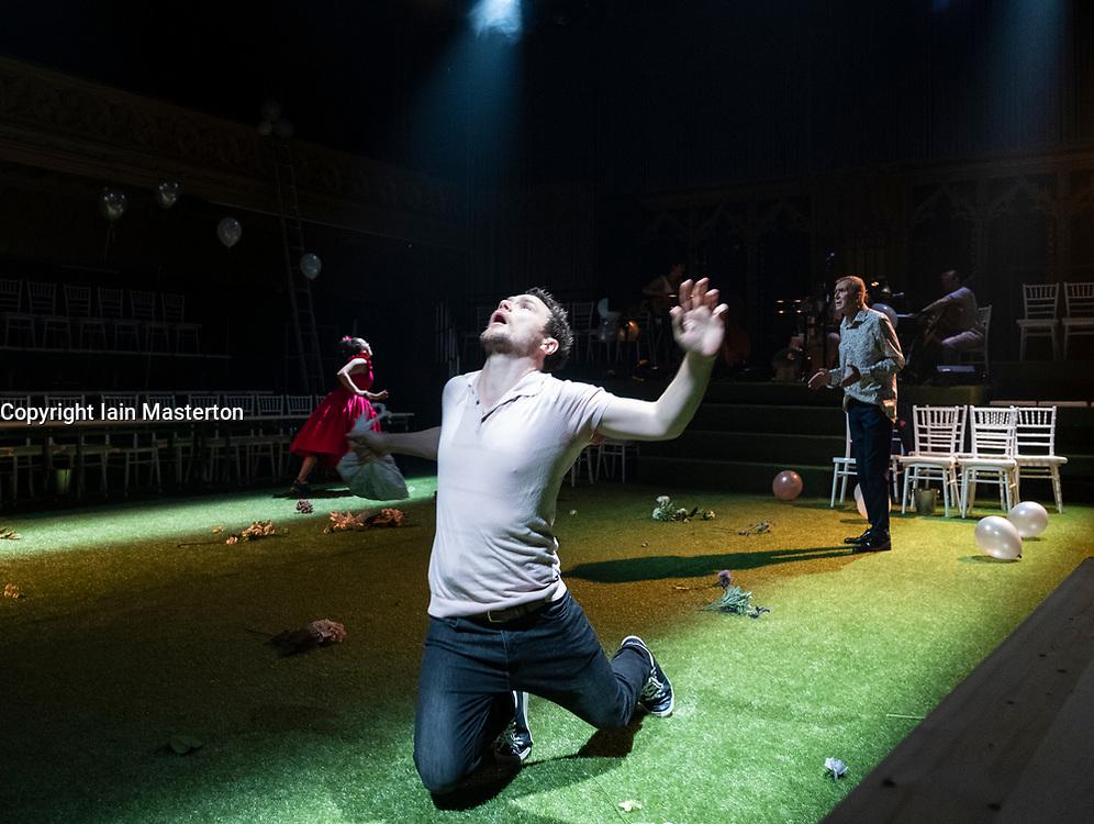 Edinburgh, Scotland, UK; 3 August, 2018. Midsummer play preview at The Hub festival theatre as part of the Edinburgh International Festival.
