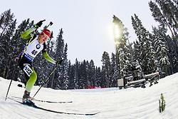 March 8, 2019 - –Stersund, Sweden - 190308 Lea Einfalt of Slovenia competes in the Women's 7.5 KM sprint during the IBU World Championships Biathlon on March 8, 2019 in Östersund..Photo: Petter Arvidson / BILDBYRÃ…N / kod PA / 92247 (Credit Image: © Petter Arvidson/Bildbyran via ZUMA Press)