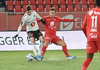 Fotball , 8. november 2019 , Eliteserien , Brann - Odd<br /> Fredrik Haugen , Brann<br /> Torgeir Børven , Odd