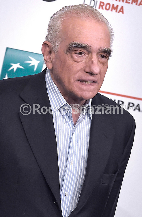 """""""The Irishman"""" Photocall - 14th Rome Film Fest 2019<br /> ROME, ITALY - OCTOBER 21: Martin Scorsese attends the photocall of the movie """"The Irishman"""" during the 14th Rome Film Festival on October 21, 2019 in Rome, Italy."""