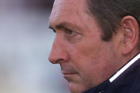 Fotball, Liverpool's manager Gerard Houllier photographed during the UEFA Champions League Qualifying match against FC Haka at the Olympic Stadium in Helsinki.  (Foto: Digitalsport).
