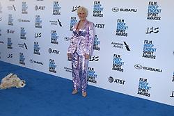 February 23, 2019 - Santa Monica, CA, USA - LOS ANGELES - FEB 23:  Glenn Close, Pip at the 2019 Film Independent Spirit Awards on the Beach on February 23, 2019 in Santa Monica, CA (Credit Image: © Kay Blake/ZUMA Wire)