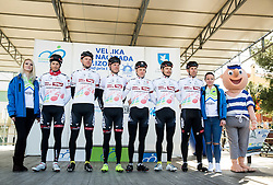 BRKIC Benjamin (AUT) of Tirol Cycling Team, FORTIN Filippo (ITA) of Tirol Cycling Team, SCHÖNBERGER Sebastian (AUT) of Tirol Cycling Team, FREIBERGER Markus (AUT) of Tirol Cycling Team, KRIZEK Matthias, SALVADOR Enrico during the UCI Class 1.2 professional race 4th Grand Prix Izola, on February 26, 2017 in Izola / Isola, Slovenia. Photo by Vid Ponikvar / Sportida