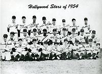 1954 Hollywood Stars Baseball Team