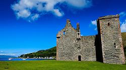 Lochranza Castle, Isle of Arran, Scotland<br /> <br /> (c) Andrew Wilson   Edinburgh Elite media