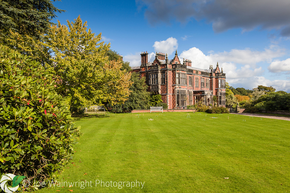 Arley Hall was built between 1832 and 1845 - it stands on the site of a much older property, constructed in 1469. .  This image is available for sale for editorial purposes, please contact me for more information.