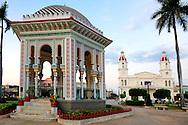 Gazebo in Manzanillo, Granma, Cuba.