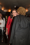 OLIVIA COLE, MICK HUCKNALL, Spectator Life - 3rd birthday party. Belgraves Hotel, 20 Chesham Place, London, SW1X 8HQ, 31 March 2015