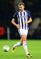Gareth McAuley of West Bromwich Albion in action .Carabao Cup 3rd round match, West Bromwich Albion v Manchester City at the Hawthorns stadium in West Bromwich, Midlands on Wednesday 20th September 2017. pic by Bradley Collyer, Andrew Orchard sports photography.