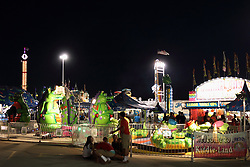 07 August 2015:   McLean County Fair - midway