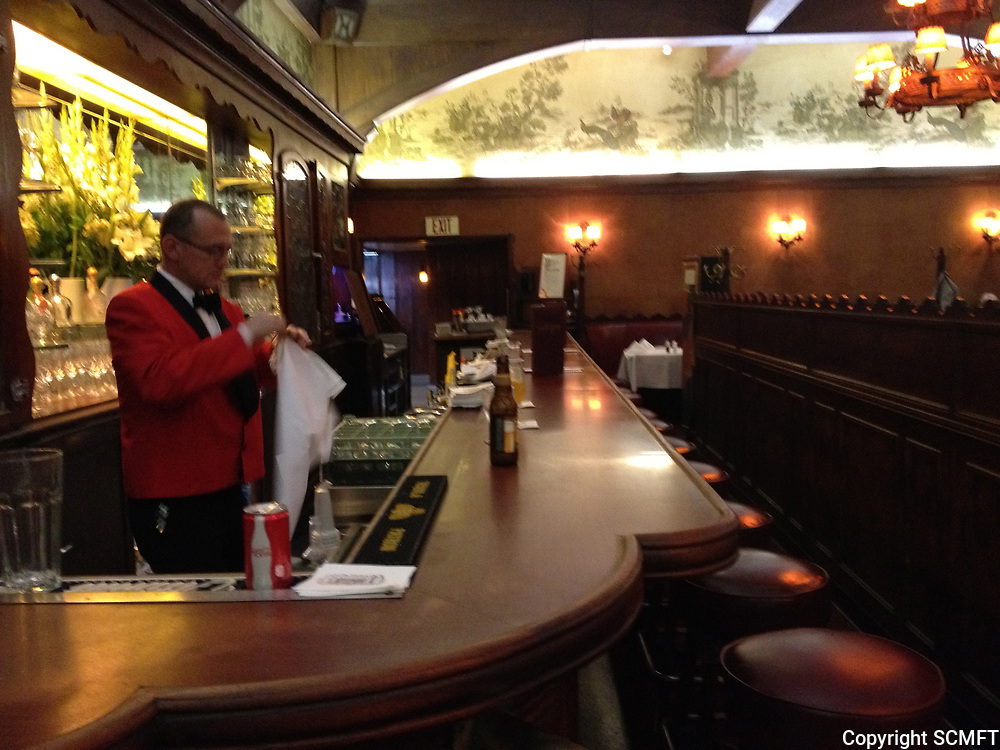 2013 Erik the Bartender at Musso & Frank Grill