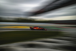 May 11, 2019 - Barcelona, Catalonia, Spain - SEBASTIAN VETTEL (GER) from team Ferrari drives in his SF90 during the third practice session of the Spanish GP at Circuit de Catalunya (Credit Image: © Matthias Oesterle/ZUMA Wire)