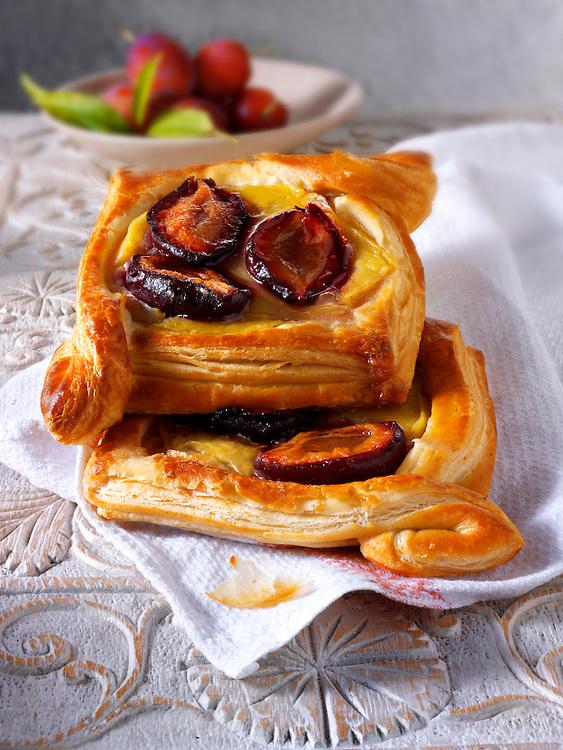 plum Danish pastry