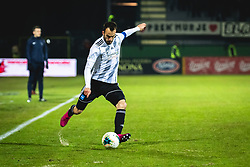 Žiga Kous of Mura during football match between NŠ Mura and NK Maribor in 22nd Round of Prva liga Telekom Slovenije 2019/20, on February 26, 2020 in Fazanerija, Murska Sobota, Slovenia. Photo by Blaž Weindorfer / Sportida