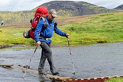 09-07-2014 ISL: Iceland Diabetes Challenge Dag 5, Emstrur<br /> Van Alftavatn naar Emstrur / Andre Feenstra