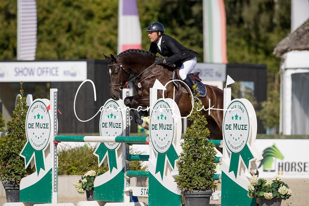 Cobbaut Geoffrey, BEL, Tilouis Van Duyversputten Z<br /> BK Young Horses 2020<br /> © Hippo Foto - Sharon Vandeput<br /> 6/09/20
